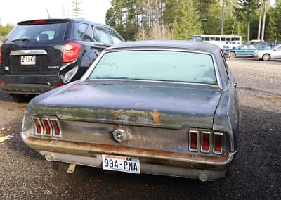93544 3:7 1965 Ford Mustang 2