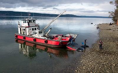 Kitsap Towing Shoreline Recovery